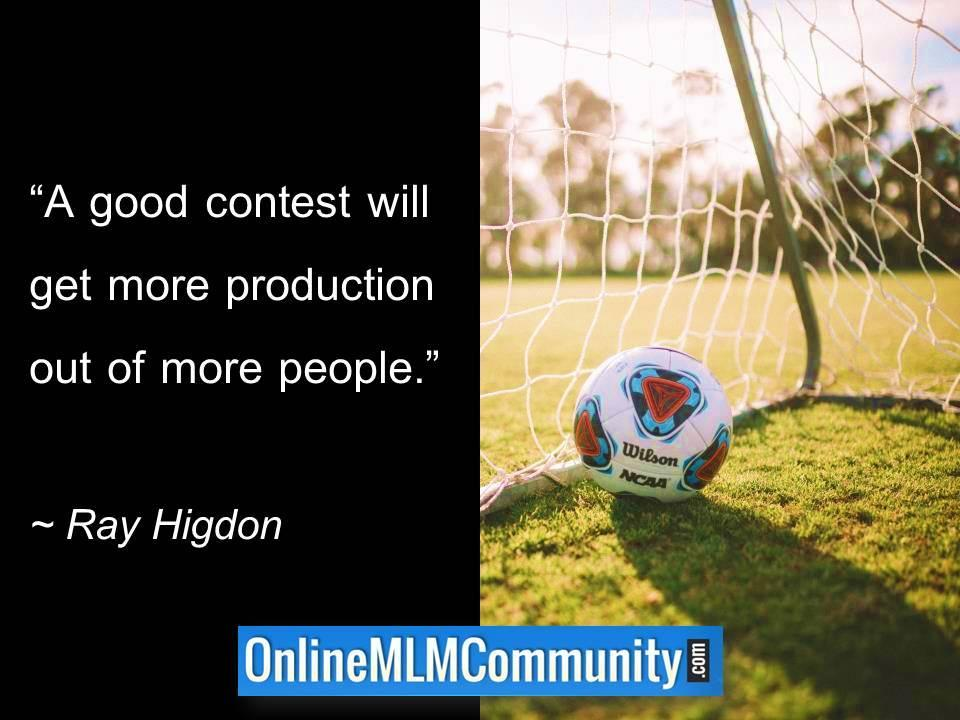 A good contest will get more production out of more people