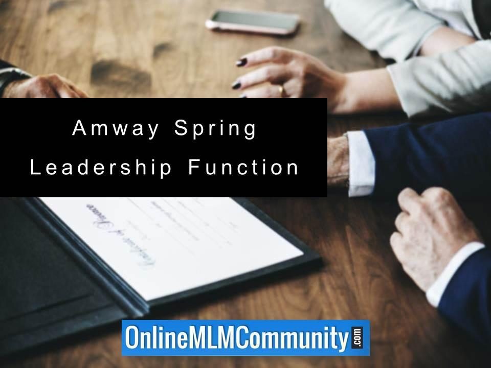 Amway Spring Leadership Function