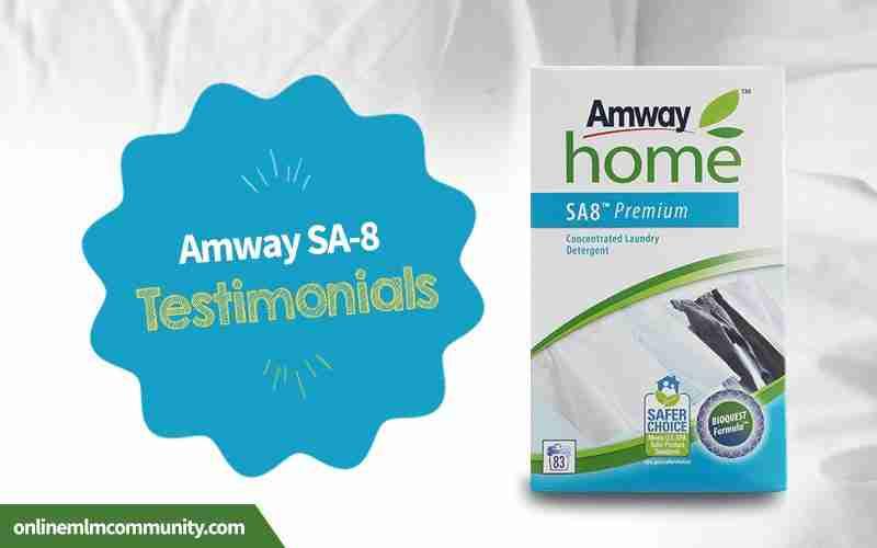 amway sa-8 testimonials
