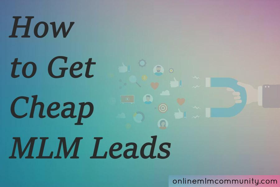 cheap mlm leads