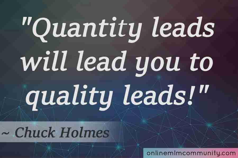 quantity mlm leads