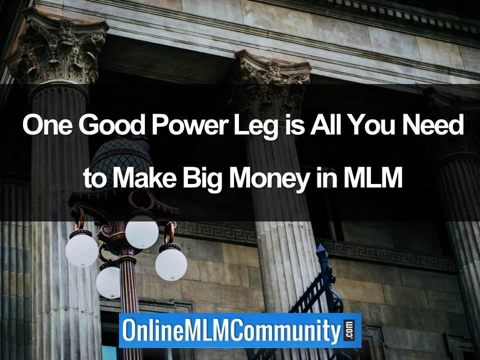mlm power leg