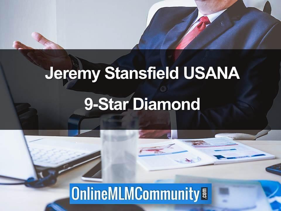 Jeremy Stansfield USANA 9-Star Diamond