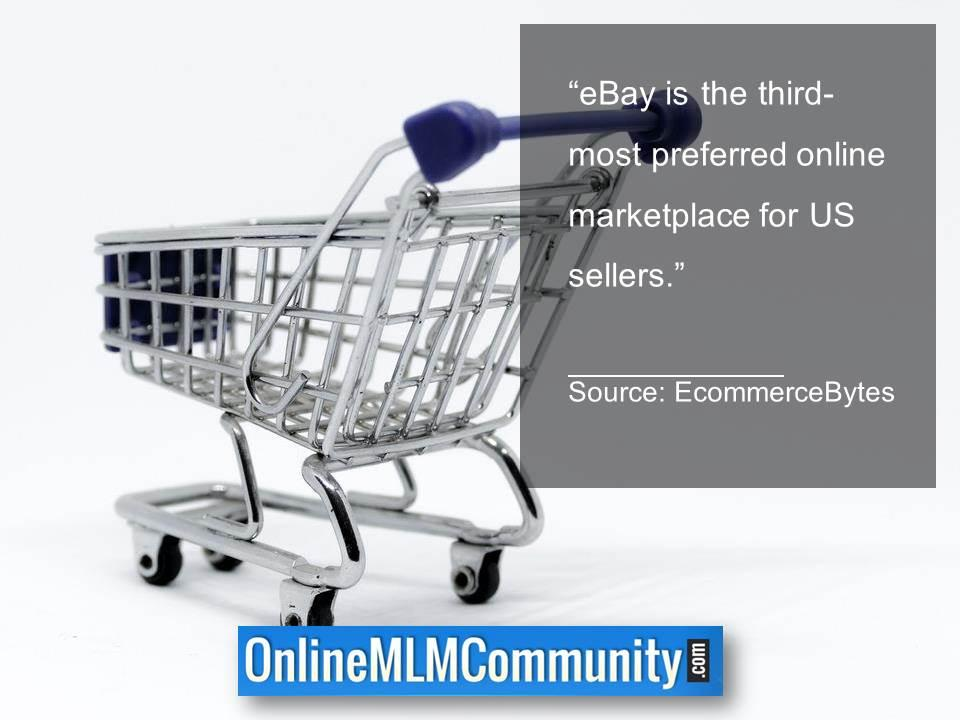 eBay is the third most preferred online marketplace for US sellers