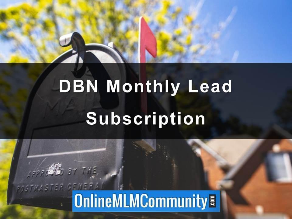 DBN Monthly Lead Subscription