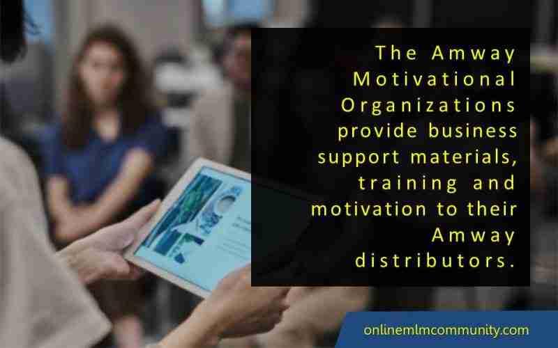 amway motivational organizations