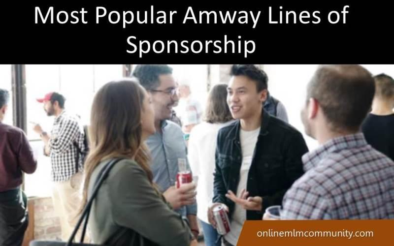 amway lines of sponsorship