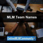 MLM Team Names: Tips on Naming Your MLM Downline