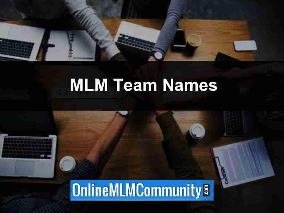 mlm team names