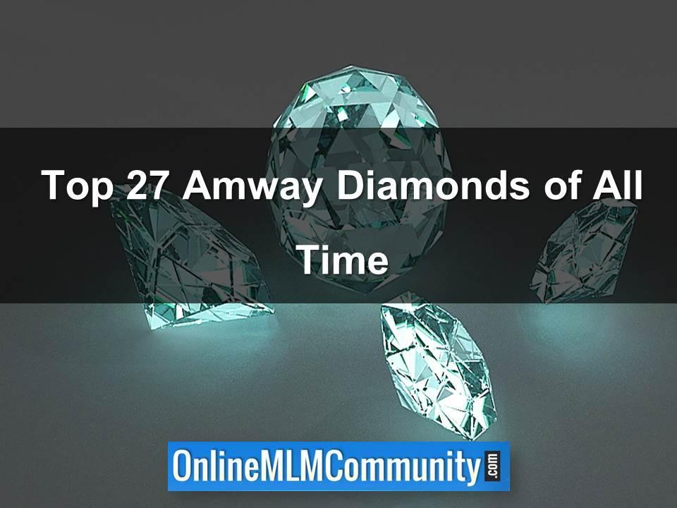 top amway diamonds