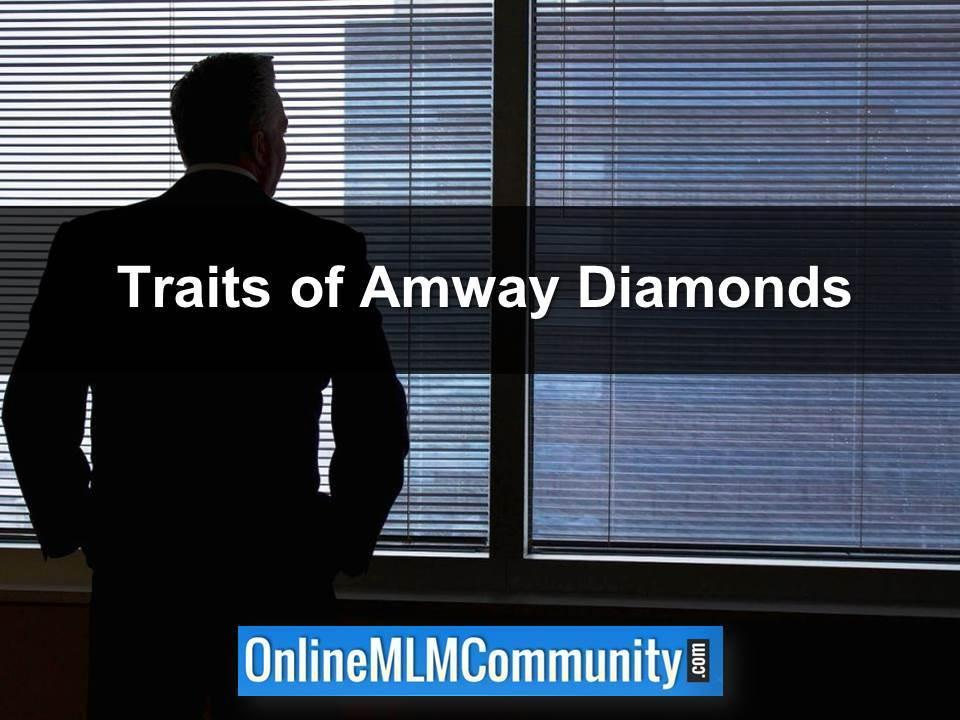 Traits of Amway Diamonds