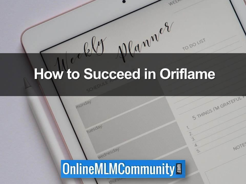 How to Succeed in Oriflame