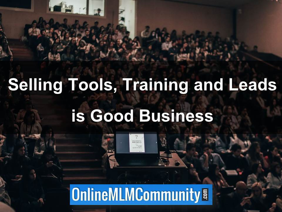 Selling Tools, Training and Leads is Good Business