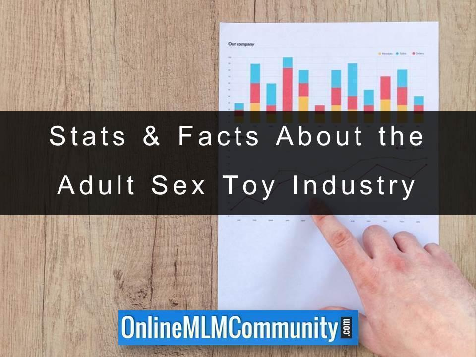 Stats & Facts About the Adult Sex Toy Industry