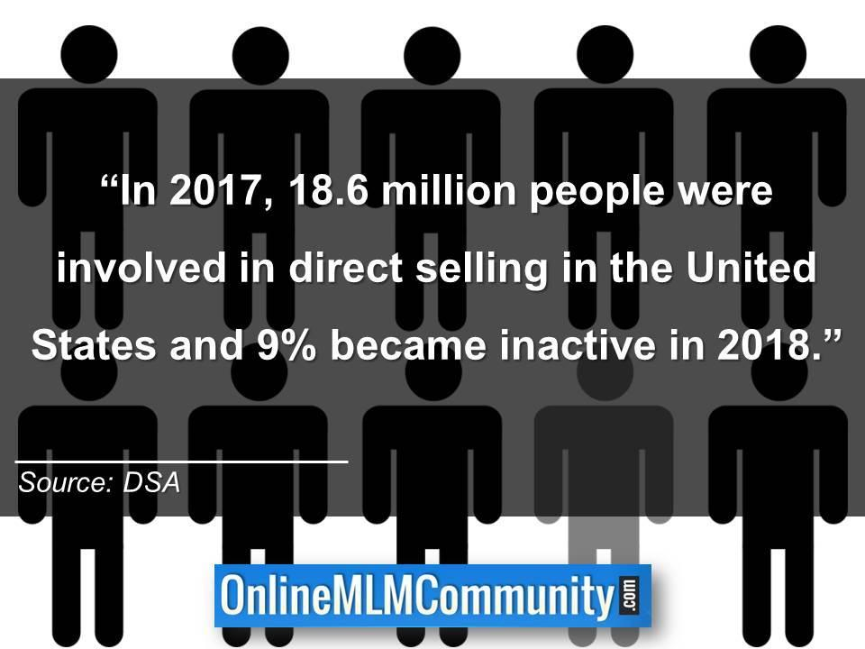 number of people in direct sales