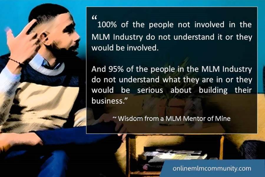 95% of the people in the MLM Industry do not understand what they are in