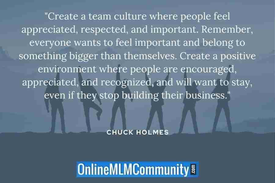 mlm team culture