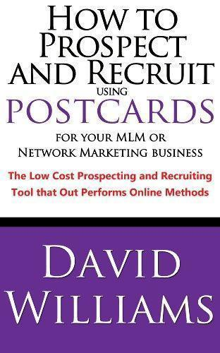 how to prospect and recruit using postcards