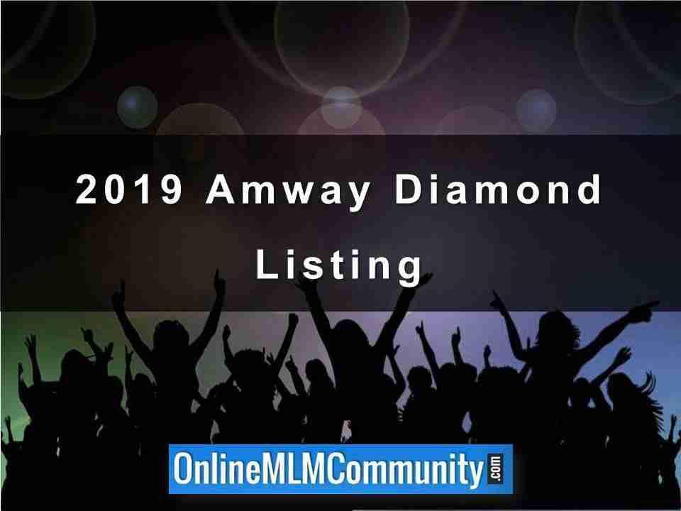 2019 Amway WWDB Diamond Listing