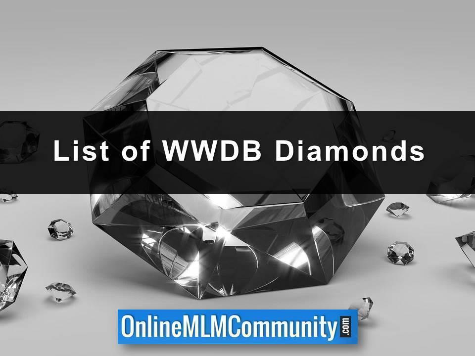 List of WWDB Diamonds