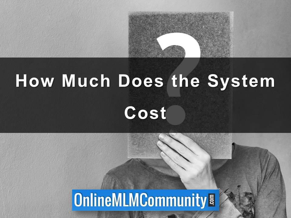 How Much Does the System Cost