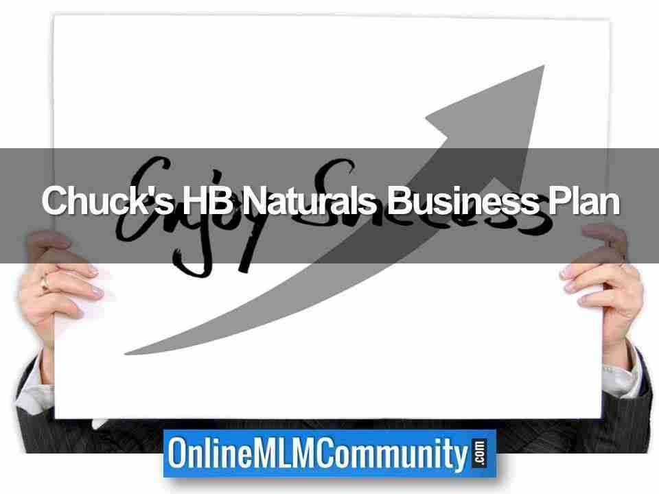 Chuck's HB Naturals Business Plan
