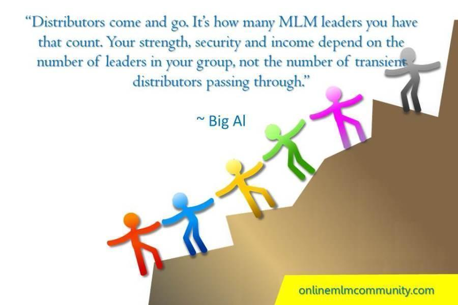 MLM leaders you have that count Big Al