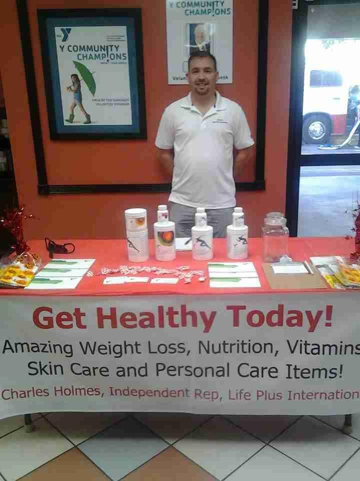 Chuck health fair photo