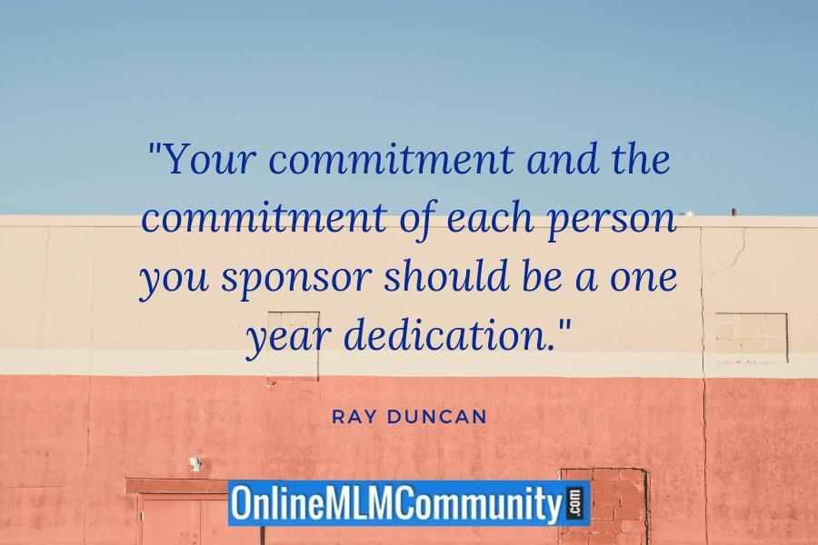 mlm commitment