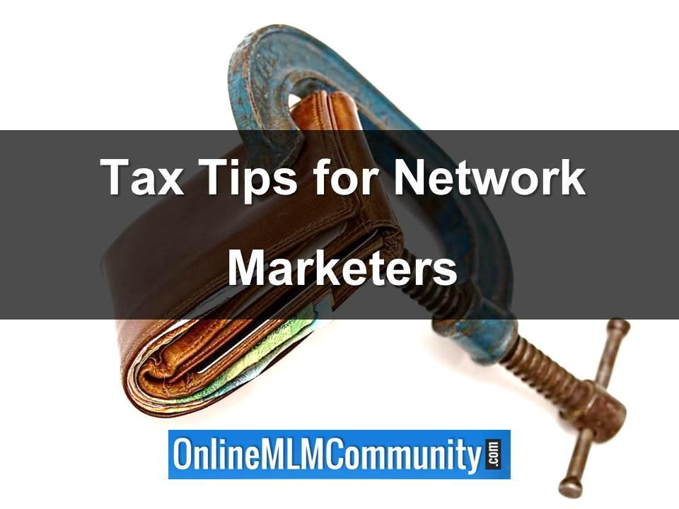 tax tips for network marketers