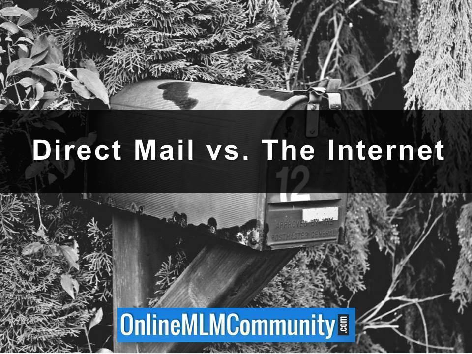 Direct Mail vs. The Internet