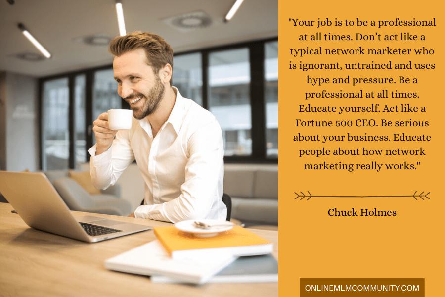 network marketing professional