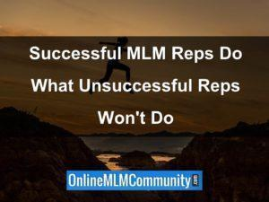 successful mlm reps