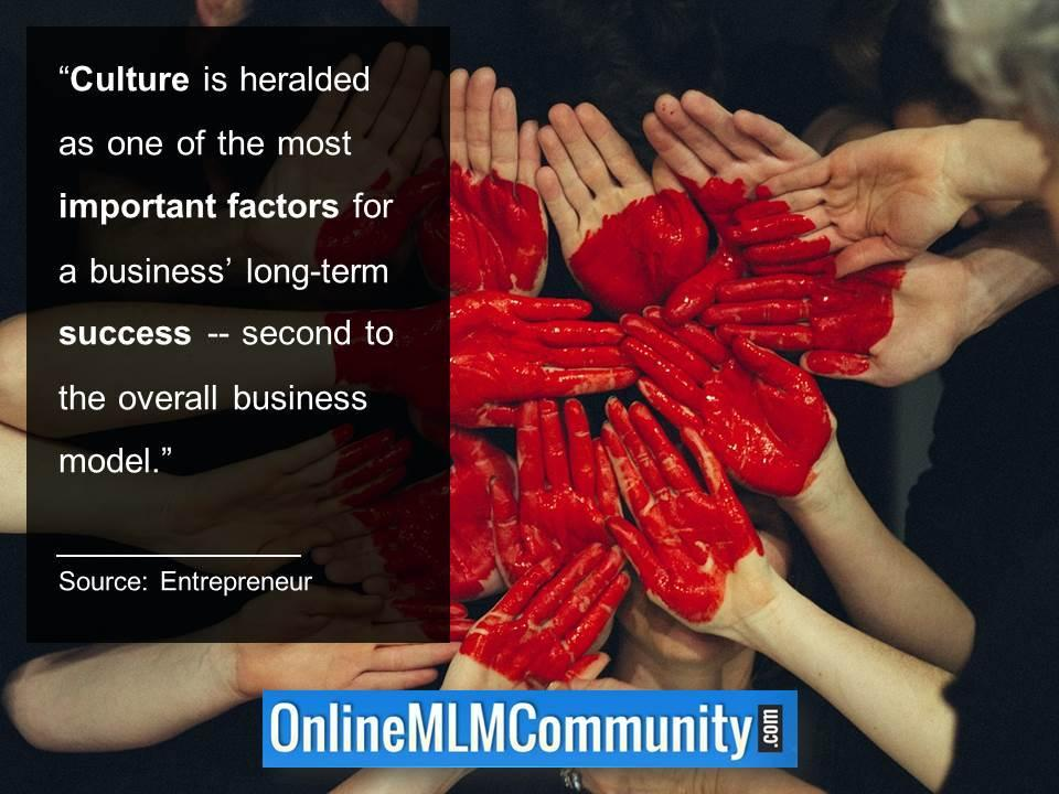 Culture is heralded as one of the most important factors for a business