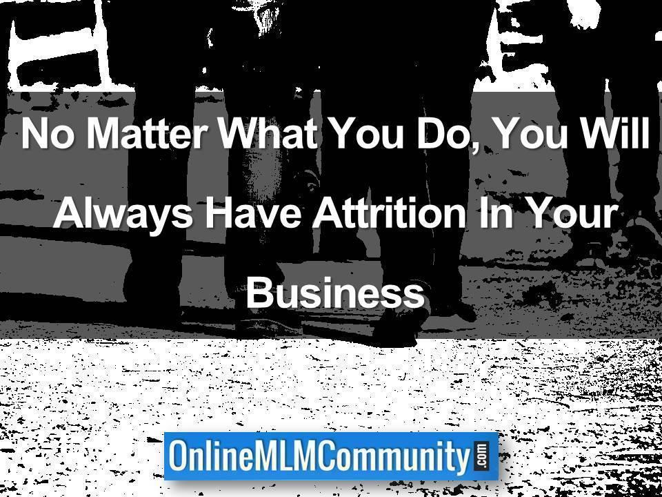 attrition in amway