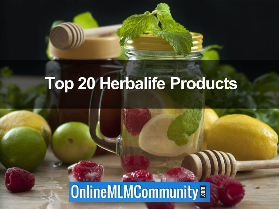 Top 20 Herbalife Products