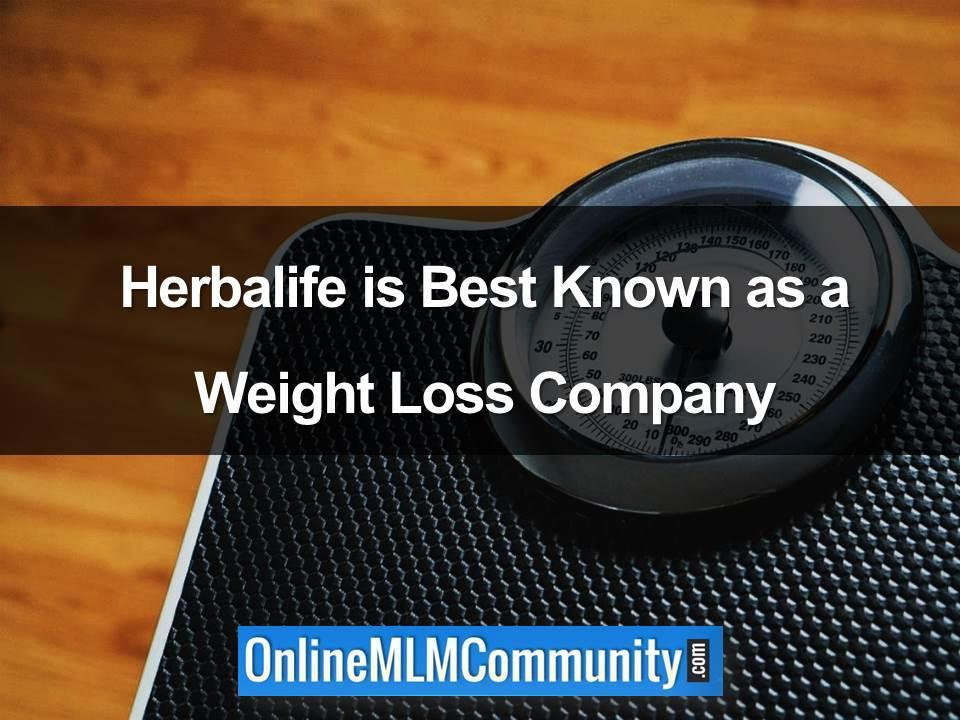 herbalife weight loss company