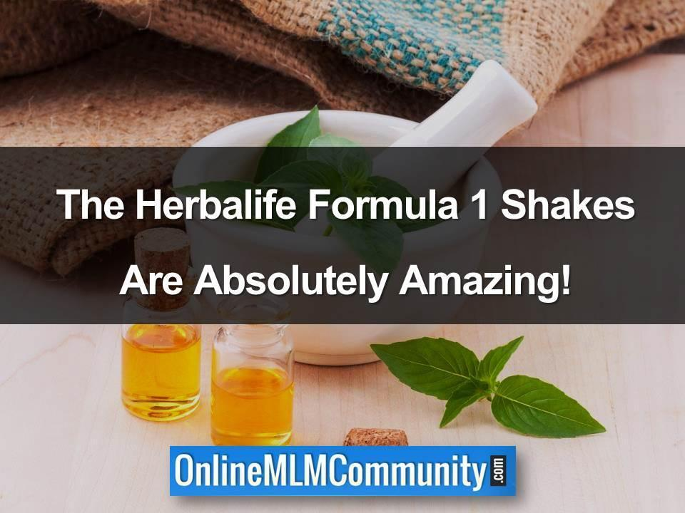herbalife formula 1 shakes
