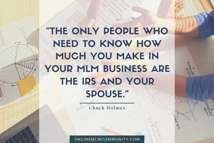 mlm irs spouse money