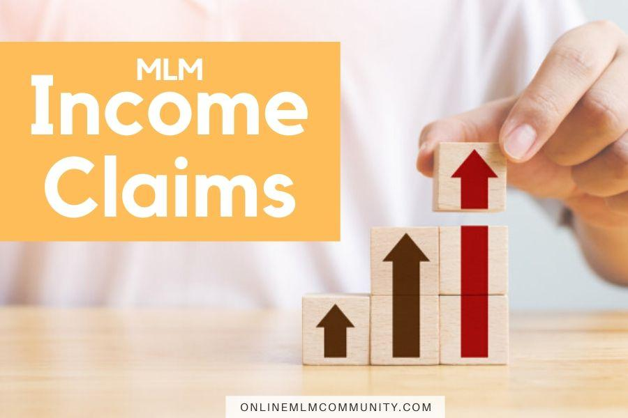 mlm income claims