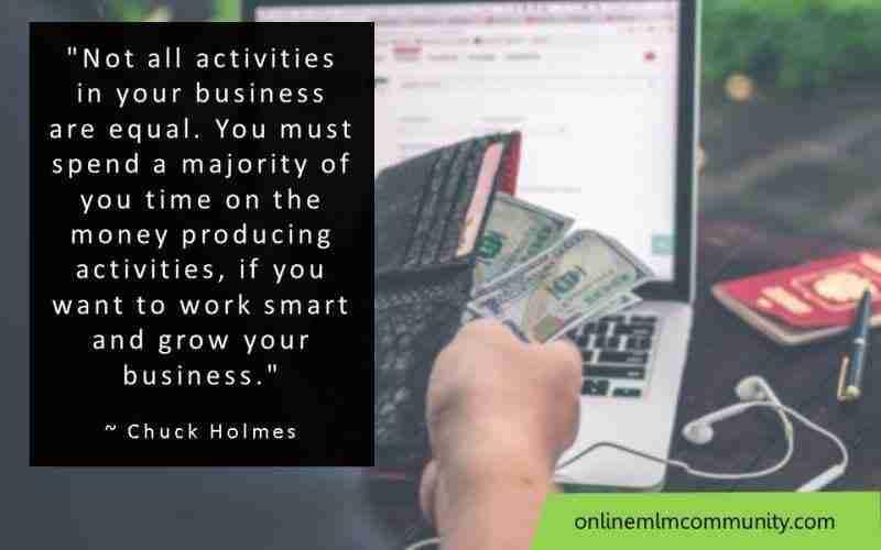 money producing activities