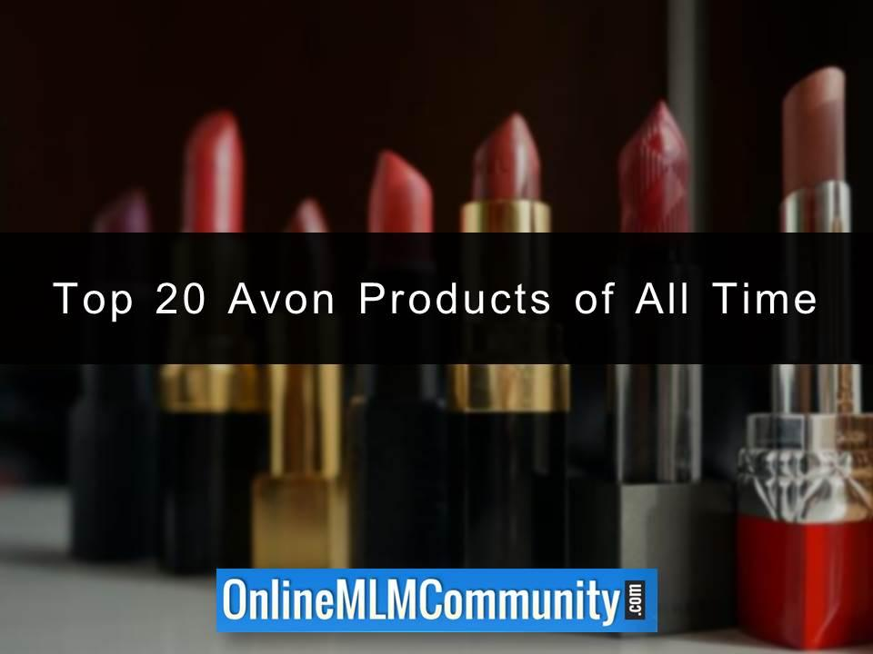 Top 20 Avon Products of All Time