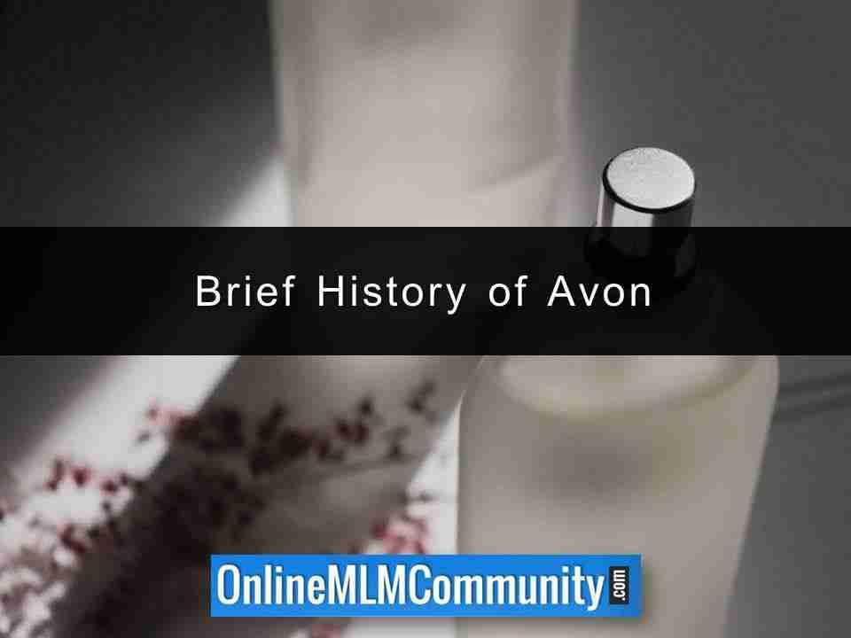 Brief History of Avon