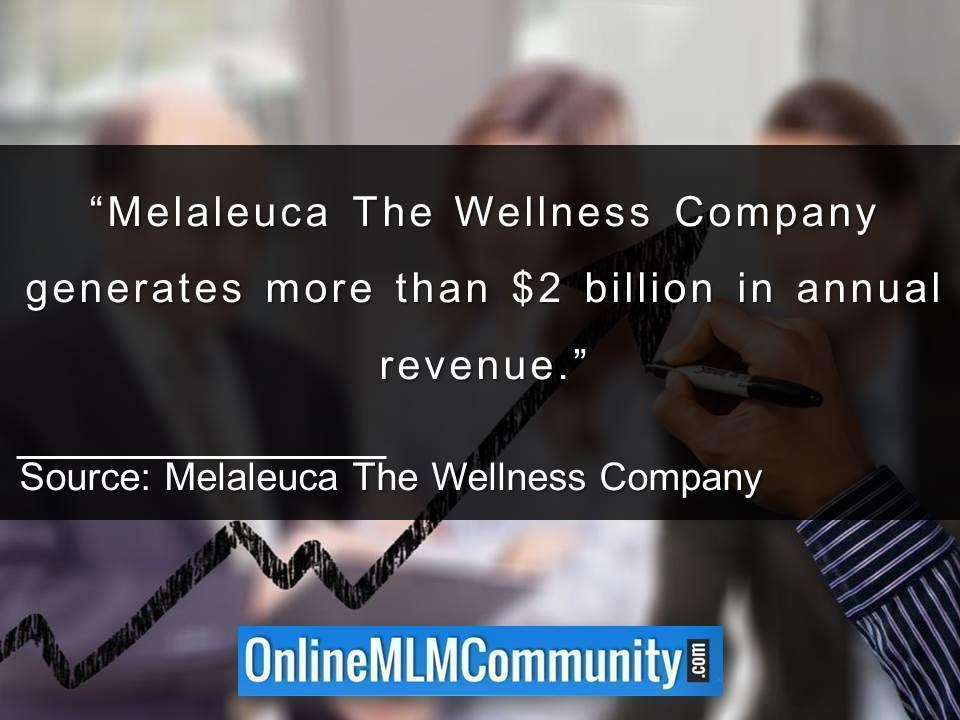 melaleuca revenue