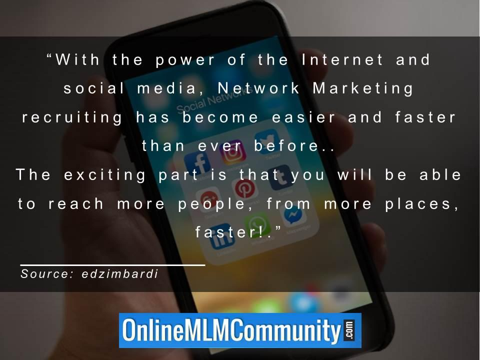 Power of the Internet and social media recruiting has become easier and faster than ever befor