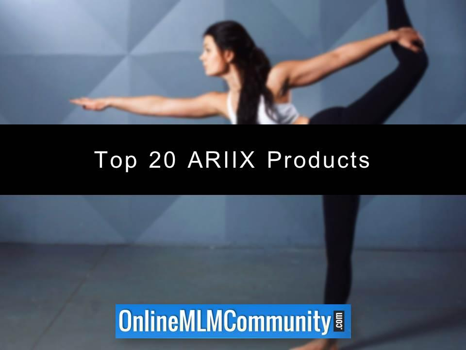 Top 20 ARIIX Products