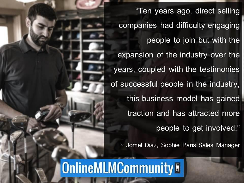Ten years ago, direct selling companies had difficulty engaging people to join
