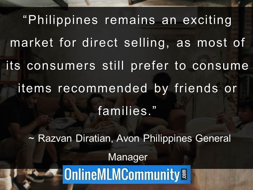 Philippines remains an exciting market for direct selling