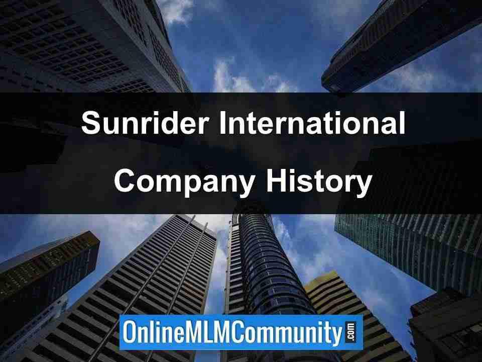 sunrider international company history