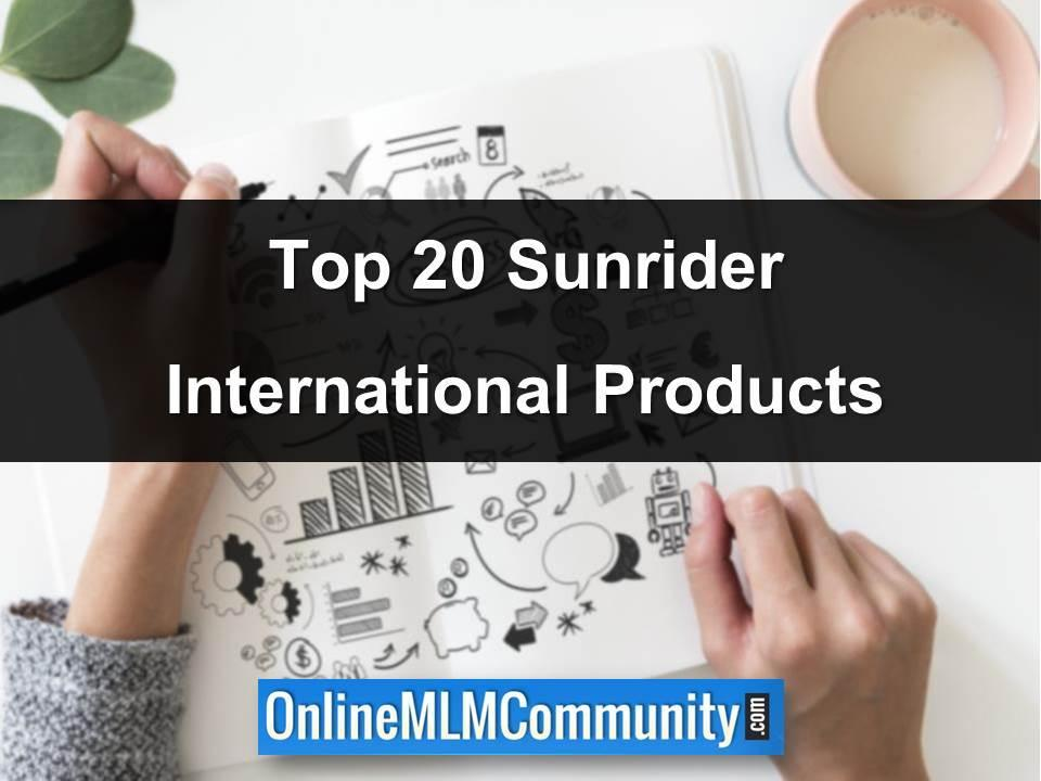 top 20 sunrider international products